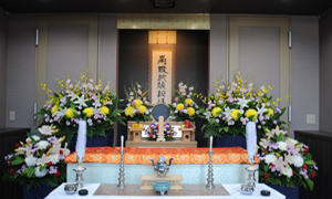 美しい祭壇