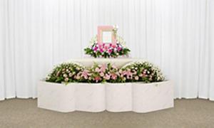 ~シンプルな花祭壇~