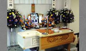 家族葬25万円