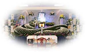 オンリーワンの花祭壇 『ダンス』