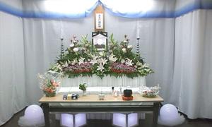 花祭壇18万プラン 施行例