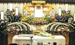 家族葬パックA  170,000円(税別