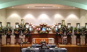 鹿児島市北部斎場での家族葬