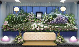 オリジナル花祭壇