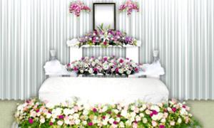 ローズセレモニーオリジナル花祭壇