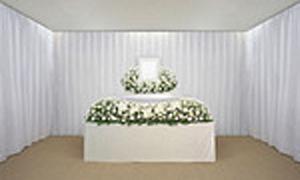 ゆうび4号花祭壇