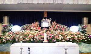 創作生花祭壇