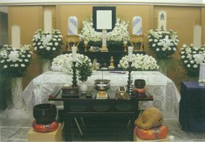 廉価葬のお葬儀です。