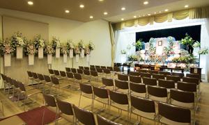 シャオン高蔵寺 オリジナル祭壇式場風景