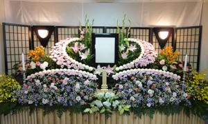 すずらんプラン 生花祭壇